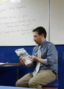 Me teaching